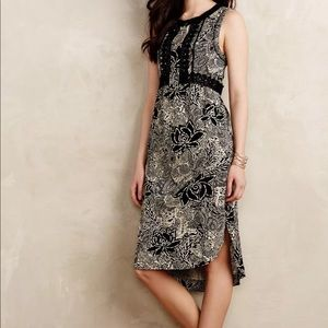 Anthropologie Holding Horses High Lo Dress